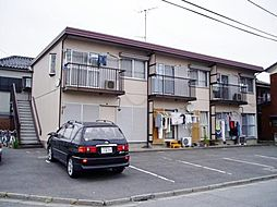 埼玉県川口市柳崎2丁目の賃貸アパートの外観