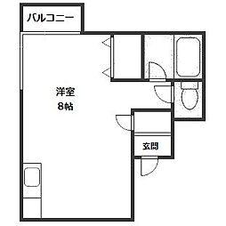 アネックス表参道[6階]の間取り