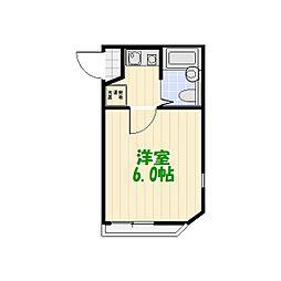 ソフィスター亀有[2階]の間取り