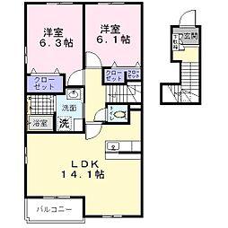 メゾンN[2階]の間取り