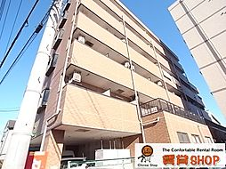 千葉県習志野市本大久保5丁目の賃貸マンションの外観
