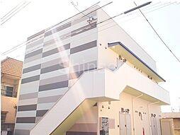 大阪府堺市東区日置荘西町2丁の賃貸アパートの外観