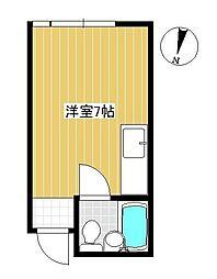 広島県呉市阿賀南4丁目の賃貸マンションの間取り