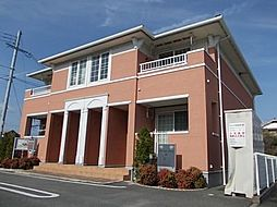 兵庫県姫路市網干区興浜の賃貸アパートの外観