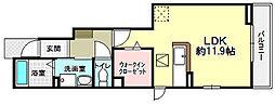 フェリーチェ松美ヶ丘[2階]の間取り