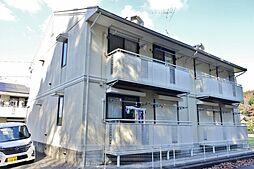 千葉県茂原市中部の賃貸アパートの外観
