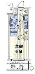 JR大阪環状線 京橋駅 徒歩7分の賃貸マンション 2階1Kの間取り