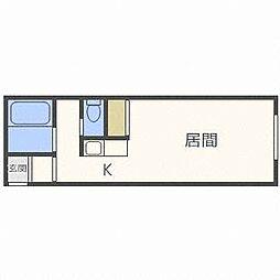 モントレー麻生[4階]の間取り
