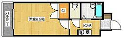 メゾン・ド・コスモス[2階]の間取り