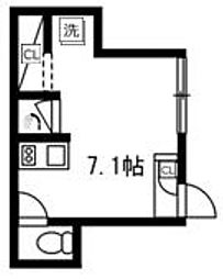 Presi桜新町[1階]の間取り