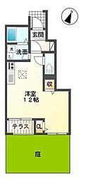 スゴンカーヤ[1階]の間取り