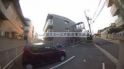 大阪府東大阪市西石切町3丁目の賃貸マンションの外観