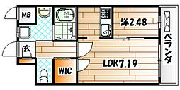 Studie KOKURA[3階]の間取り