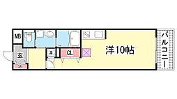 S-FORT 神戸神楽町[8階]の間取り