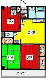 ガーデンハウス池田[3階]の間取り