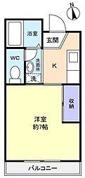 ルネッサンスハイム[2階]の間取り
