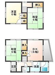 [一戸建] 愛媛県宇和島市別当1丁目 の賃貸【/】の間取り