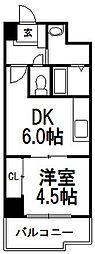 北海道札幌市中央区北一条西19丁目の賃貸マンションの間取り
