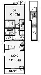 和 (ナゴミ)[2階]の間取り