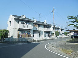 愛媛県松山市南久米町の賃貸アパ...