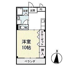 アイランドM 3階[306号室]の間取り