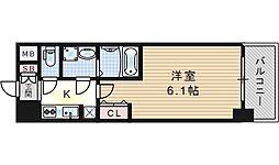 W-STYLE福島IIウィステリア[11階]の間取り