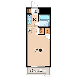メゾン・ド・エルヴェ[2階]の間取り