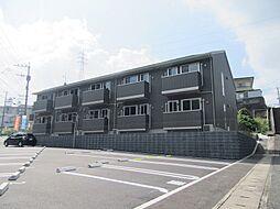 福岡県北九州市小倉北区泉台2丁目の賃貸アパートの外観