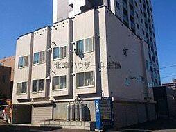 北海道札幌市北区北三十一条西4丁目の賃貸アパートの外観