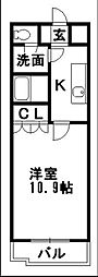 コンフォルトT[2階]の間取り