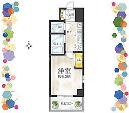 🉐敷金礼金0円!🉐人気エリア 駅2分 ラナップスクエア東天満
