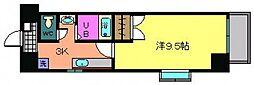 広島県広島市安佐南区緑井2丁目の賃貸マンションの間取り