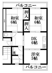マンションTAKAYAI[1階]の間取り