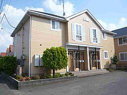 千葉県東金市田間2の賃貸アパートの外観