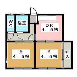 [一戸建] 愛知県春日井市神領町2丁目 の賃貸【/】の間取り