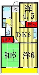 高砂青葉マンション[1階]の間取り