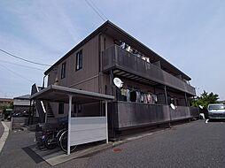 静岡県磐田市西貝塚の賃貸アパートの外観