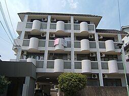 京都府京都市山科区上花山久保町の賃貸マンションの外観