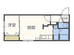 仮)北5西13MS A棟[1階]の間取り