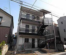 京都府京都市上京区三栄町の賃貸アパートの外観