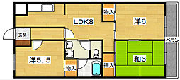 CLAIR N1[1階]の間取り