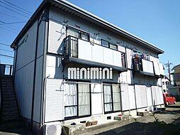 静岡県沼津市大平の賃貸アパートの外観