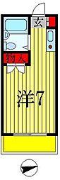 ジュネパレス松戸第16[302号室]の間取り