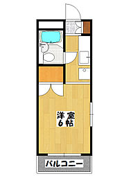 第7FKビル[2階]の間取り