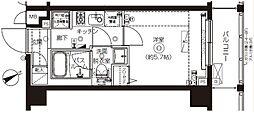 ZOOM上板橋[5階]の間取り