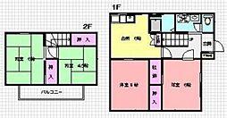 [テラスハウス] 神奈川県横浜市青葉区桂台2丁目 の賃貸【/】の間取り
