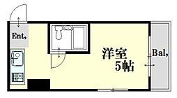 メゾン舟入[2階]の間取り