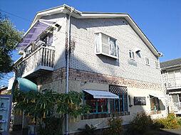 愛媛県松山市立花2丁目の賃貸アパートの外観