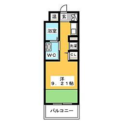 フェルト627[4階]の間取り