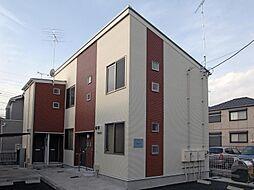 千葉県松戸市稔台3の賃貸アパートの外観